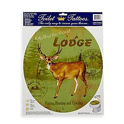 Toilet Tattoos® Deer Lodge in Round