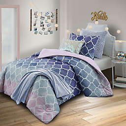 Watercolor Bree 6-Piece Reversible Comforter Set
