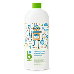 Babyganics® 32 oz. Fragrance-Free Foaming Dish & Bottle Soap Refill