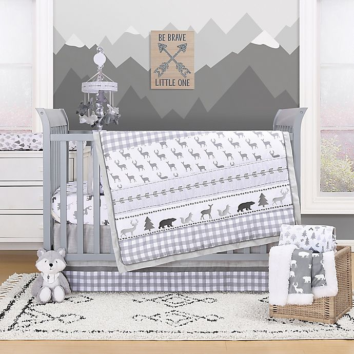 Alternate image 1 for The Peanutshell™ Forest Dream Crib Bedding Collection