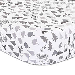The Peanutshell™ Forest Dream Fitted Crib Sheet