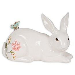 Fitz and Floyd® Butterfly Fields Resting Rabbit Figurine