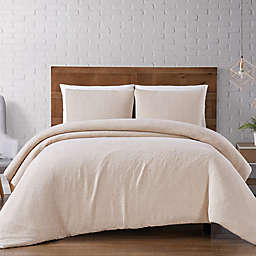 Brooklyn Loom® Woven Matelasse Duvet Set