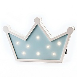 Crown Marquee Light Wall Art