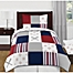Part of the Sweet Jojo Designs® Baseball Patch Children's Bedding Collection