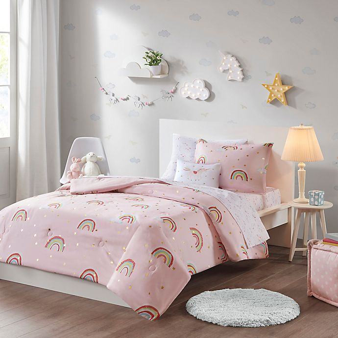 Alternate image 1 for Mi Zone Kids Alicia Bedding Collection in Pink