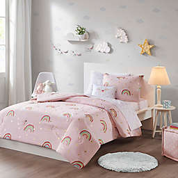 Mi Zone Kids Alicia Comforter Set in Pink