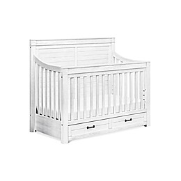 Million Dollar Baby Classic Hollis 4-in-1 Convertible Crib in Country White