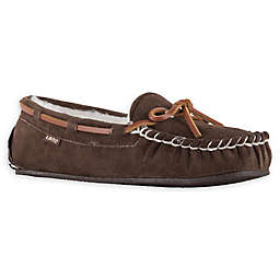 Lamo® Women's Size 11 Britain Moc II Moccasins in Chocolate