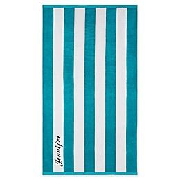 Wamsutta® Personalized Resort Stripe Beach Towel