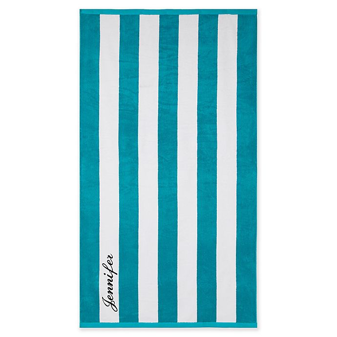 Alternate image 1 for Wamsutta® Resort Stripe Beach Towel Collection