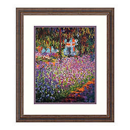 Amanti Art Monet's Garden at Giverny (detail) by Claude Monet 20 in. W x 22 in. H Framed Art