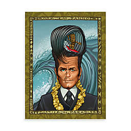 Colossal Images    Justice in Paradise 18-Inch x 24-Inch Wall Art