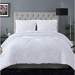 Christian Siriano® Georgia Rouched Duvet Set