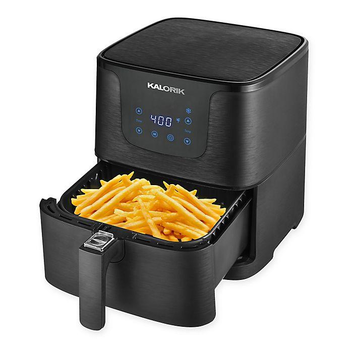 Alternate image 1 for Kalorik® Digital Air Fryer in Matte Black