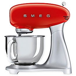 SMEG 50's Retro Style 5 qt. Stand Mixer with Stainless Steel Bowl