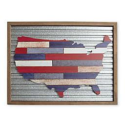 Proud American 18-Inch x 24-Inch MDF Wall Art