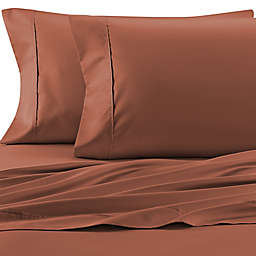 Therapedic® Celliant® 400-Thread-Count Twin Sheet Set in Terracotta