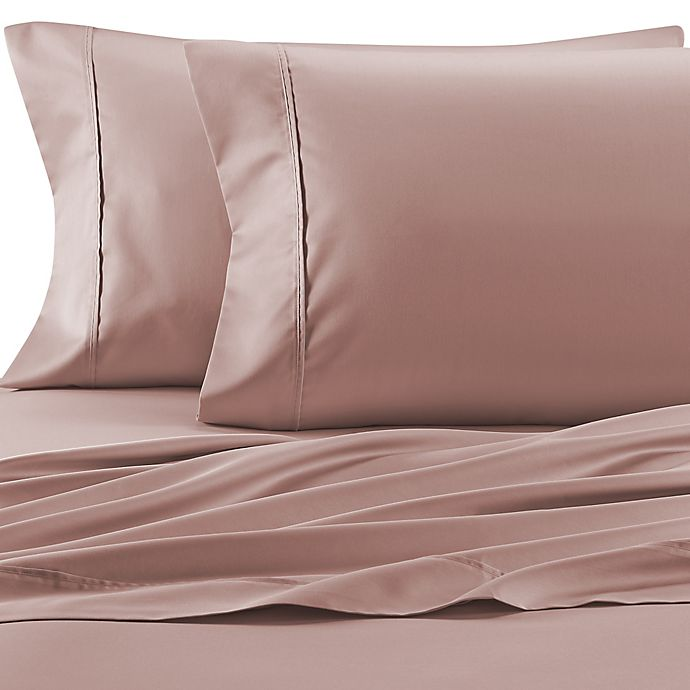 Alternate image 1 for Therapedic® Celliant® 400-Thread-Count Twin Sheet Set in Pink