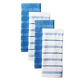 KitchenAid® Albany Striped Kitchen Towels (Set of 4)