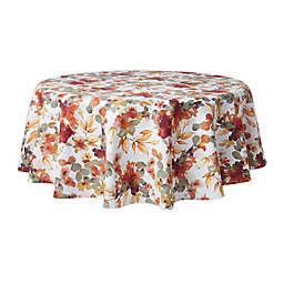Autumn Trail 52-Inch Round Twill Tablecloth