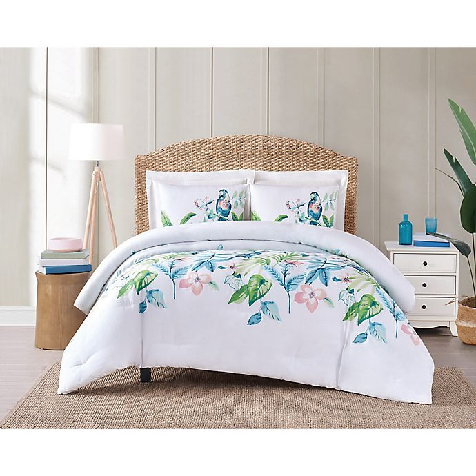 Alternate image 1 for Oceanfront Resort® Tropical Bungalow Bedding