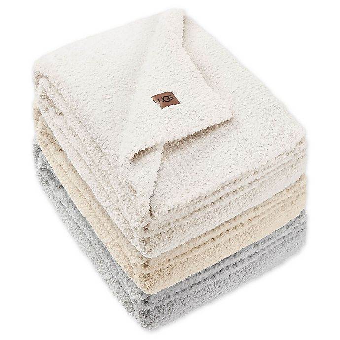 Alternate image 1 for UGG® Olympia Chenille Knit Throw Blanket