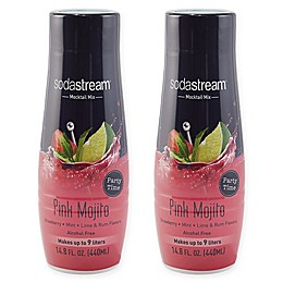 SodaStream® 2-Pack Pink Mojito Mocktail Drink Mix