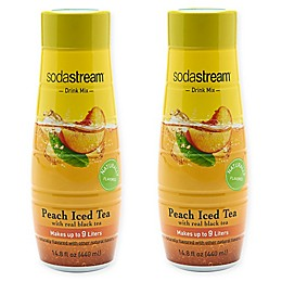 SodaStream® 2-Pack Peach Iced Tea Drink Mix