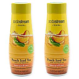 SodaStream® 2-Pack Peach Iced Tea Drink Mix