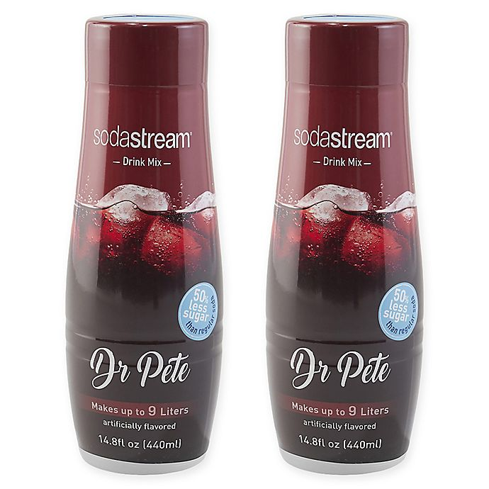 Alternate image 1 for SodaStream® 2-Pack Dr. Pete Drink Mix
