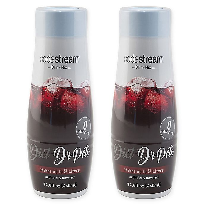 Alternate image 1 for SodaStream® 2-Pack Diet Dr. Pete Drink Mix