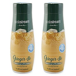 SodaStream® 2-Pack Ginger Ale Drink Mix