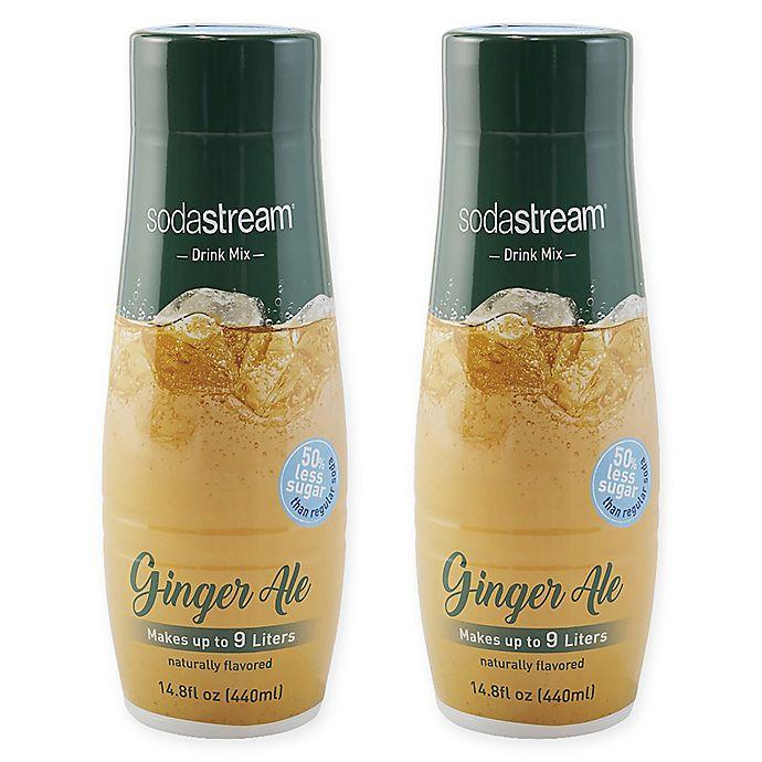 Alternate image 1 for SodaStream® 2-Pack Ginger Ale Drink Mix