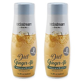 SodaStream® 2-Pack Diet Ginger Ale Drink Mix