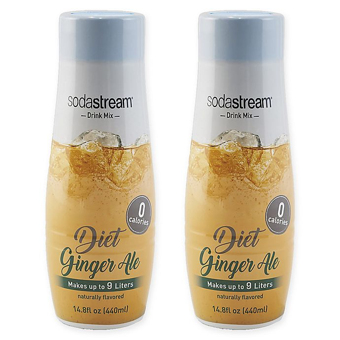 Alternate image 1 for SodaStream® 2-Pack Diet Ginger Ale Drink Mix