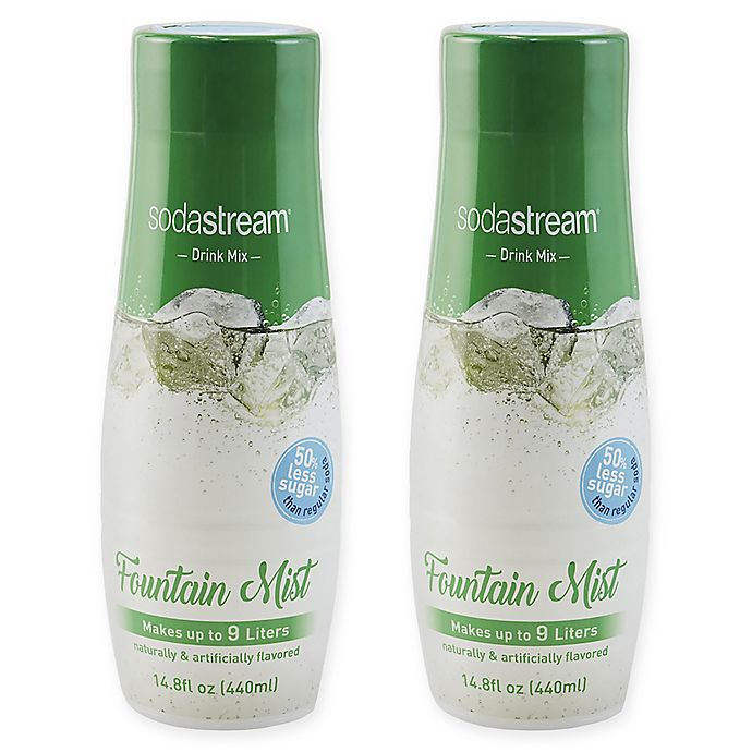 Alternate image 1 for SodaStream® 2-Pack Fountain Mist Drink Mix