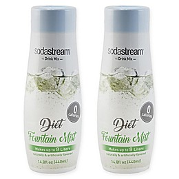 SodaStream® 2-Pack Diet Fountain Mist Drink Mix