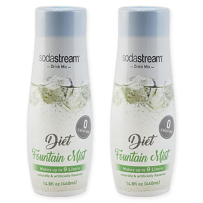 Alternate image 1 for SodaStream® 2-Pack Diet Fountain Mist Drink Mix
