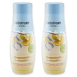 SodaStream® 2-Pack Homestyle Lemonade Drink Mix