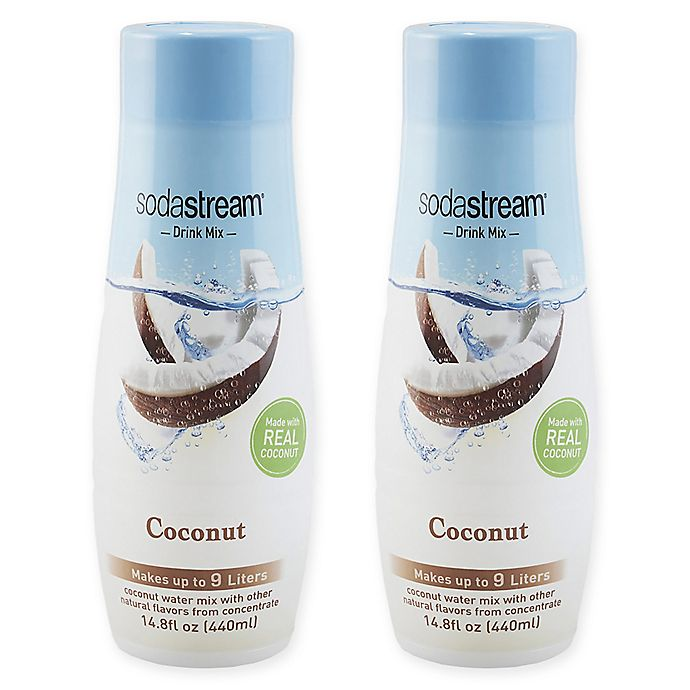 Alternate image 1 for SodaStream® 2-Pack Coconut Drink Mix