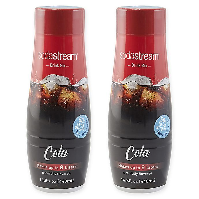 Alternate image 1 for SodaStream® 2-Pack Cola Drink Mix