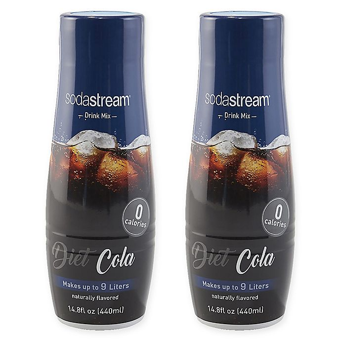 Alternate image 1 for SodaStream® 2-Pack Diet Cola Drink Mix