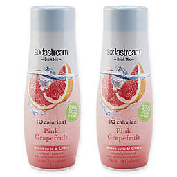 SodaStream® 2-Pack Pink Grapefruit Drink Mix