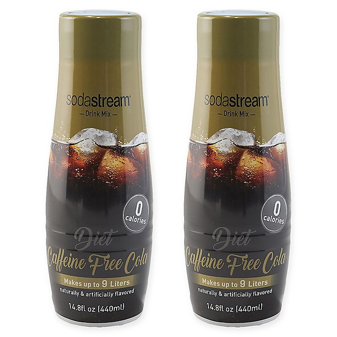 Alternate image 1 for SodaStream® 2-Pack Diet Caffeine Drink Mix
