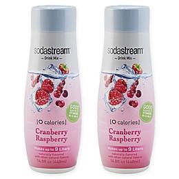 SodaStream® 2-Pack Zero Cranberry Raspberry Drink Mix