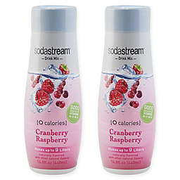 SodaStream® 2-Pack Zero Cranberry Raspberry Drink Mix