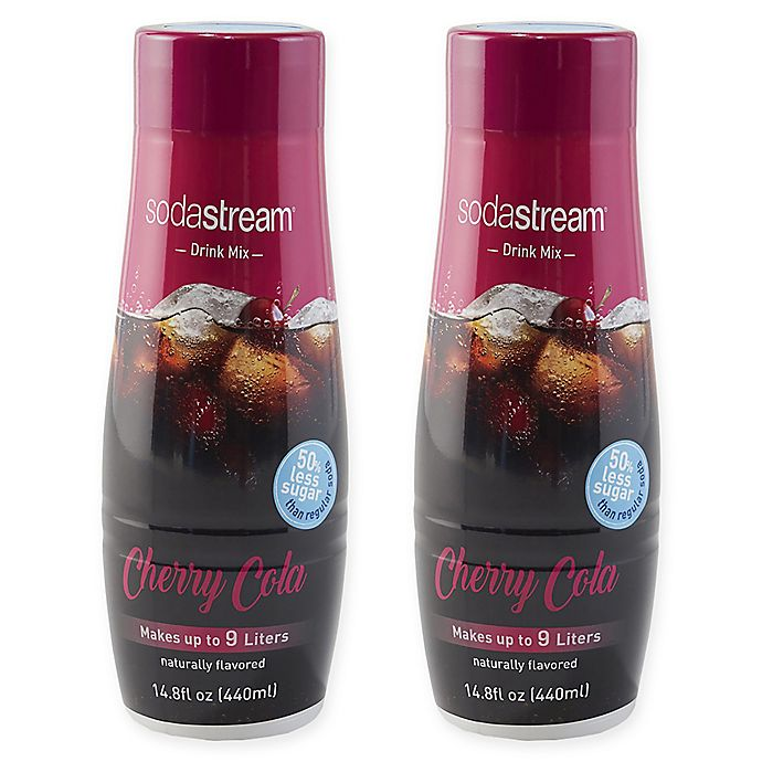 Alternate image 1 for SodaStream® 2-Pack Cherry Cola Drink Mix