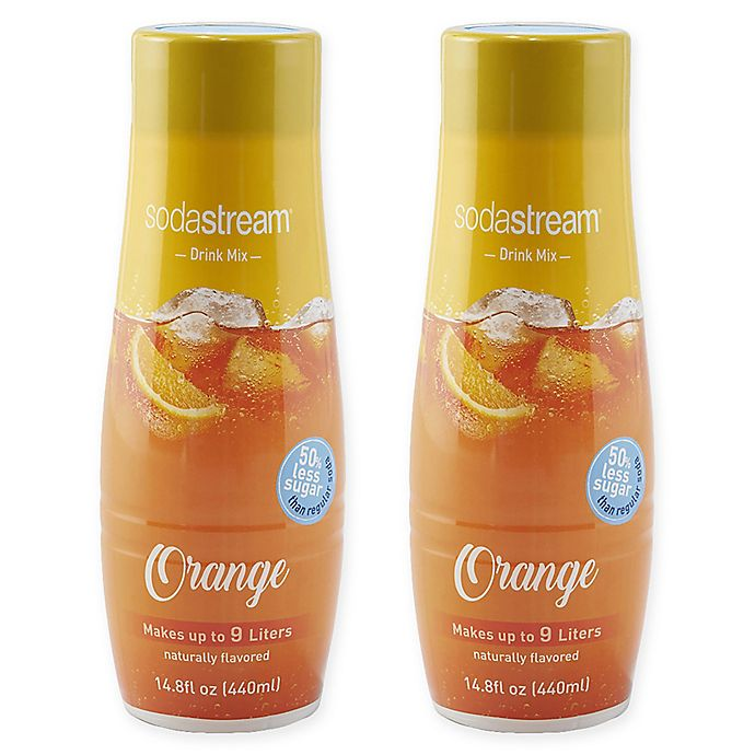 Alternate image 1 for SodaStream® 2-Pack Orange Drink Mix