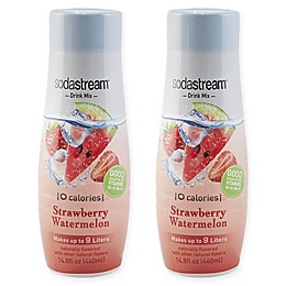 SodaStream® 2-Pack Zero Strawberry Watermelon Drink Mix